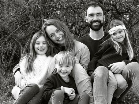 Skøn familiefotografering i Hedeland