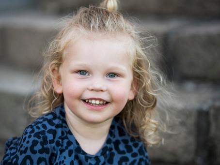 Børnefotografering med skønne Philippa i Århus