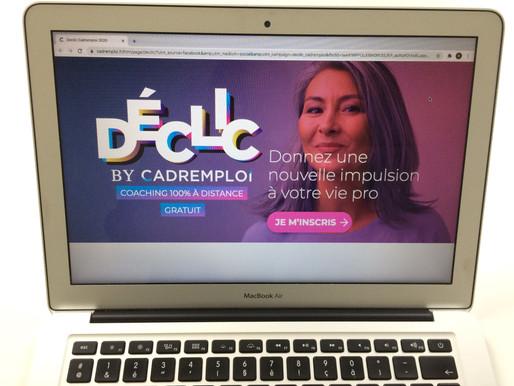 """Programme """"Déclic by Cadremploi"""" !"""