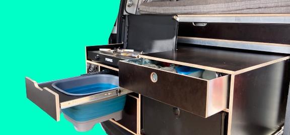 Camping Caddy Claudius Camping Box