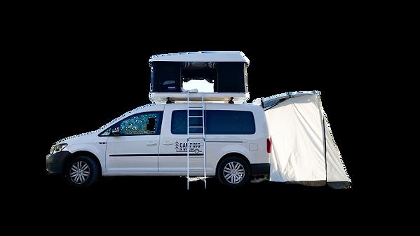 Camping Caddy am Strand in Kroatien_edit