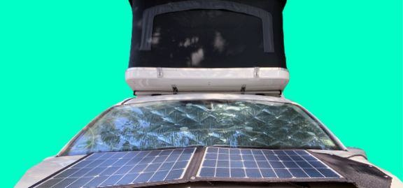 Camping Caddy Colonius mit Solar-Faltmodul