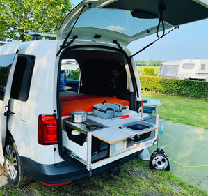 Camping Caddy unterwegs in den Niederlanden