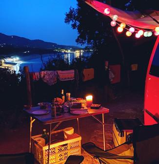 Nachts - Camping in my Car - Camper mieten Köln