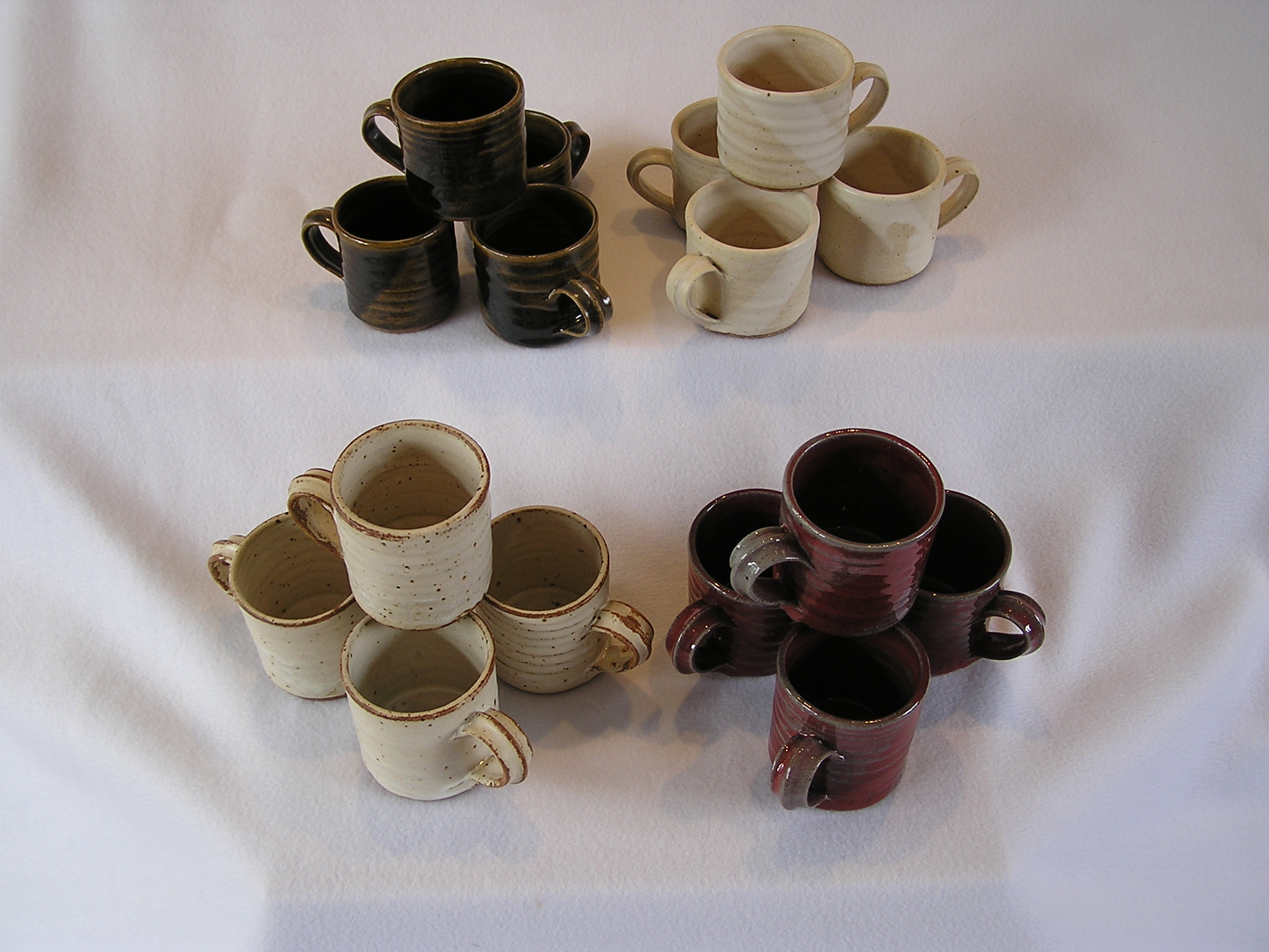 Cup- Coffee, Set of 4 Group A Assorted C