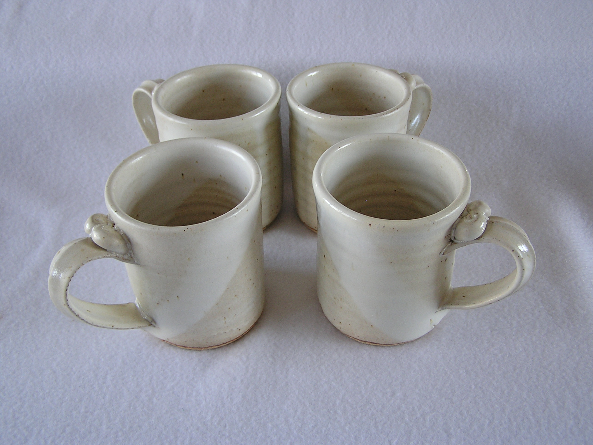 Mug- 4x3 in D825 Alabaster Set 4 (NFS)