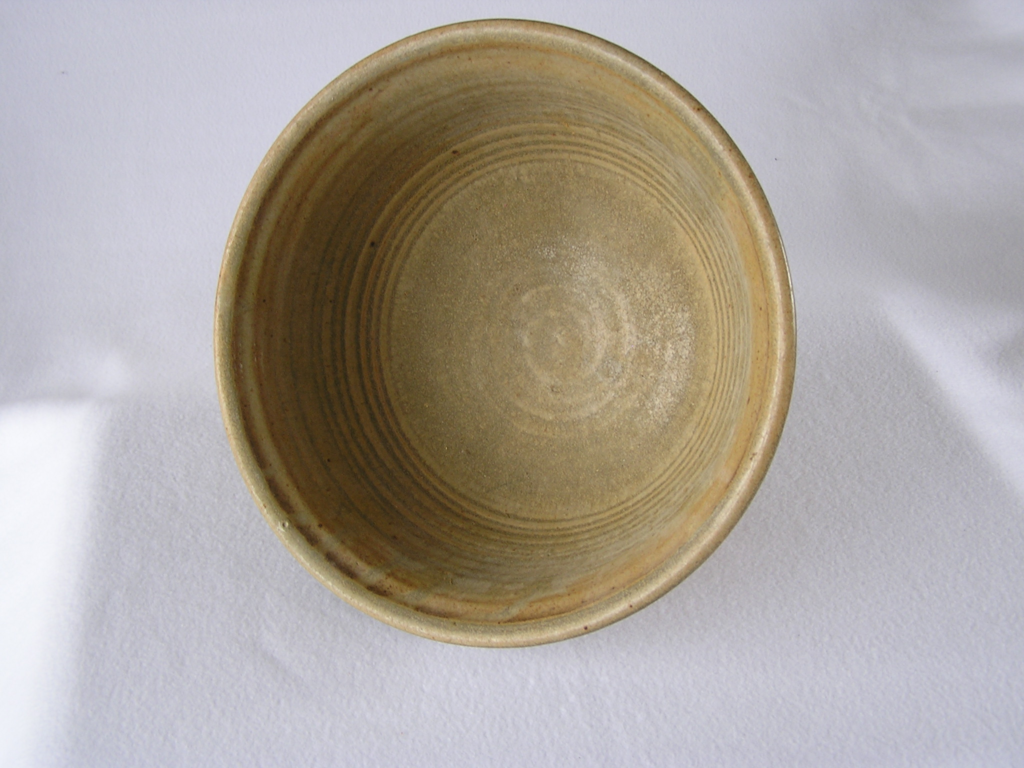 Bowl- Flared Rim, Tan 5.5x12 in ($60)
