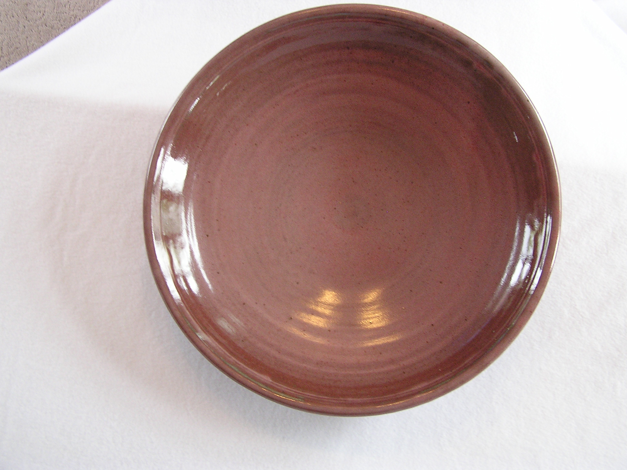 Bowl- Cranberry 5x19 in (NFS) B076