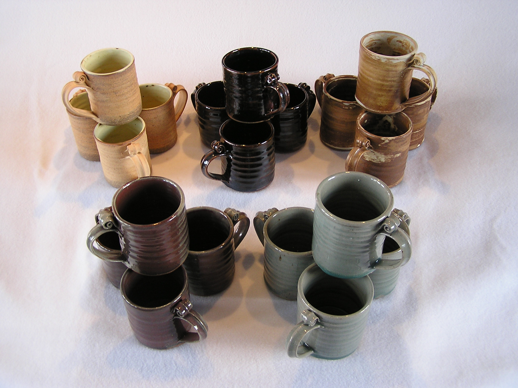 Mug- Set 4 Group A 4x3 in Assorted Color