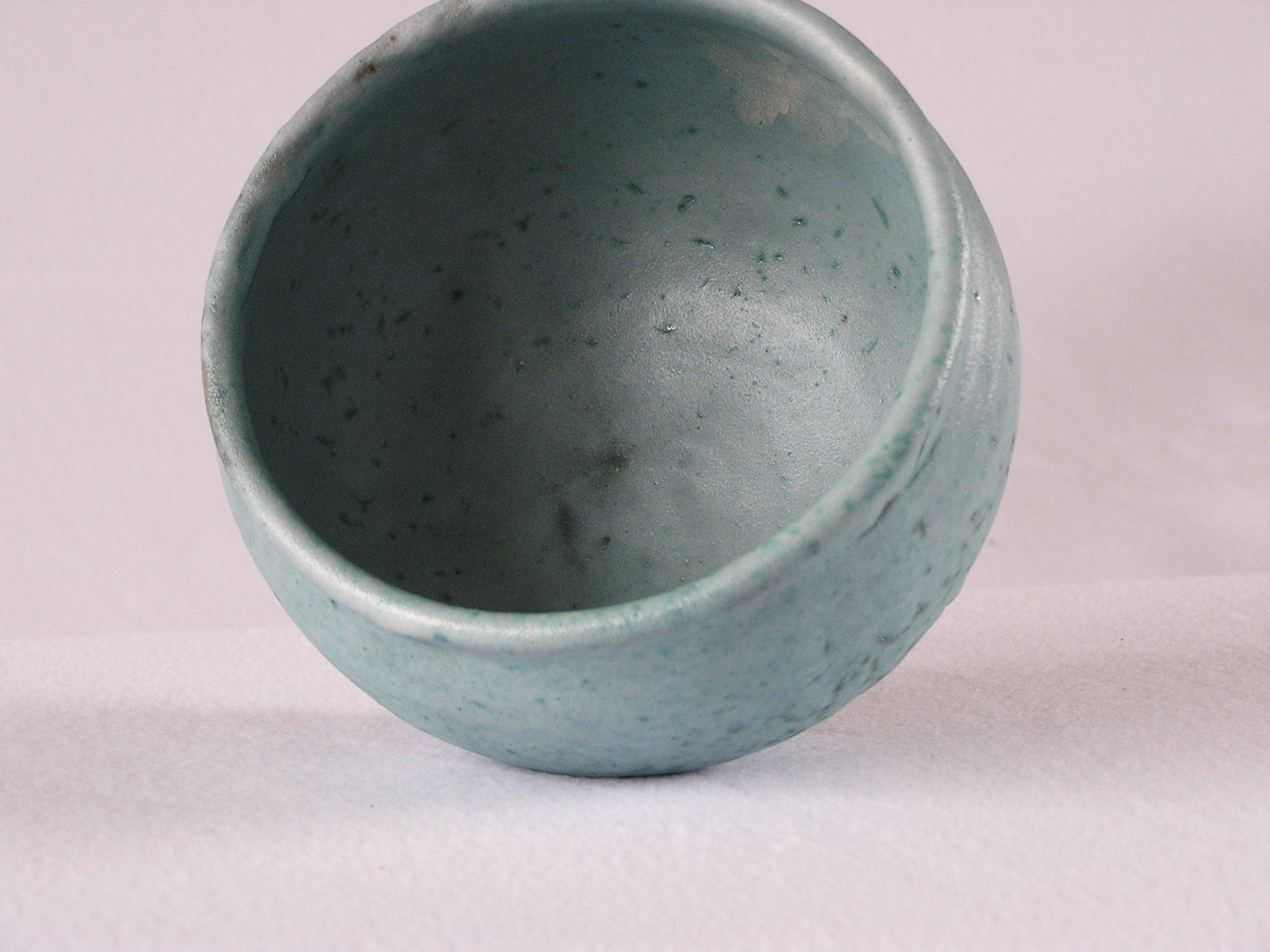 Bowl- Sky Blue Matt 4.5x6 in ($30)