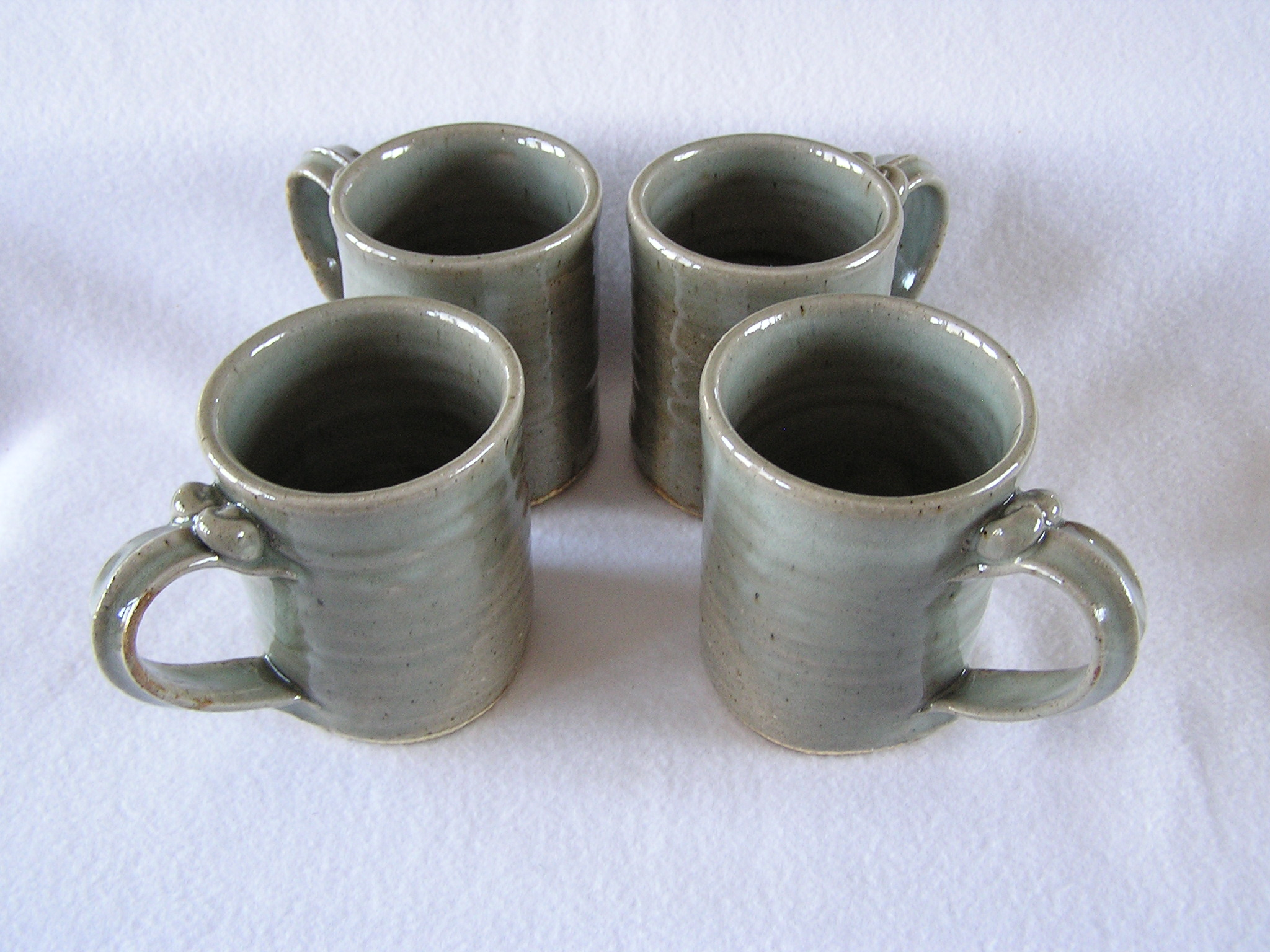Mug- 4x3 in D826 Dove Grey Set 4 (NFS)