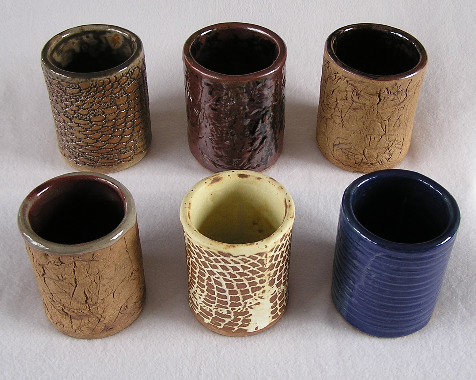 Wine Cylinder- Group J 6 in Assorted ($2