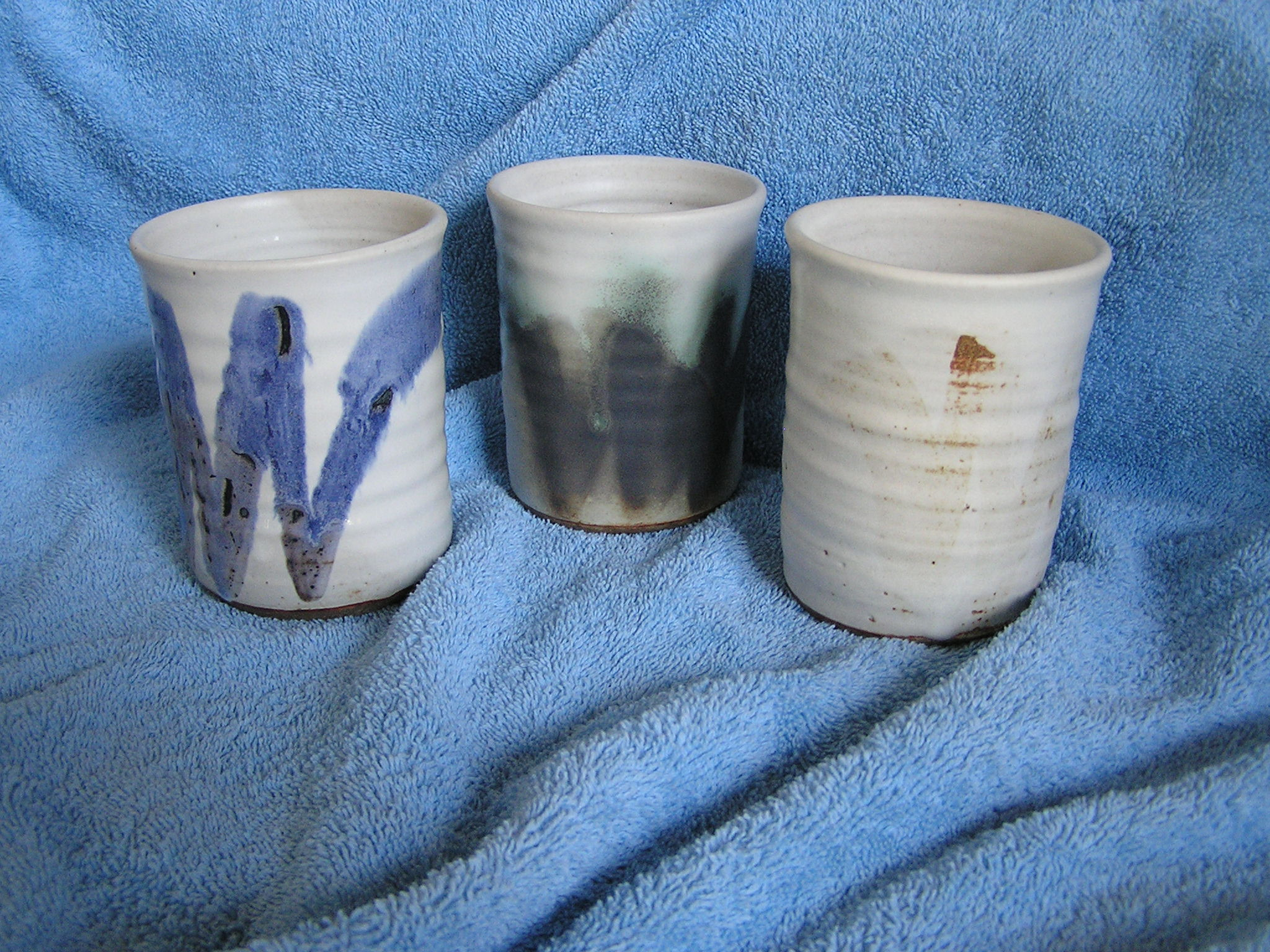 Cup- Tumbler, White Assrt 5 in ($6 each)