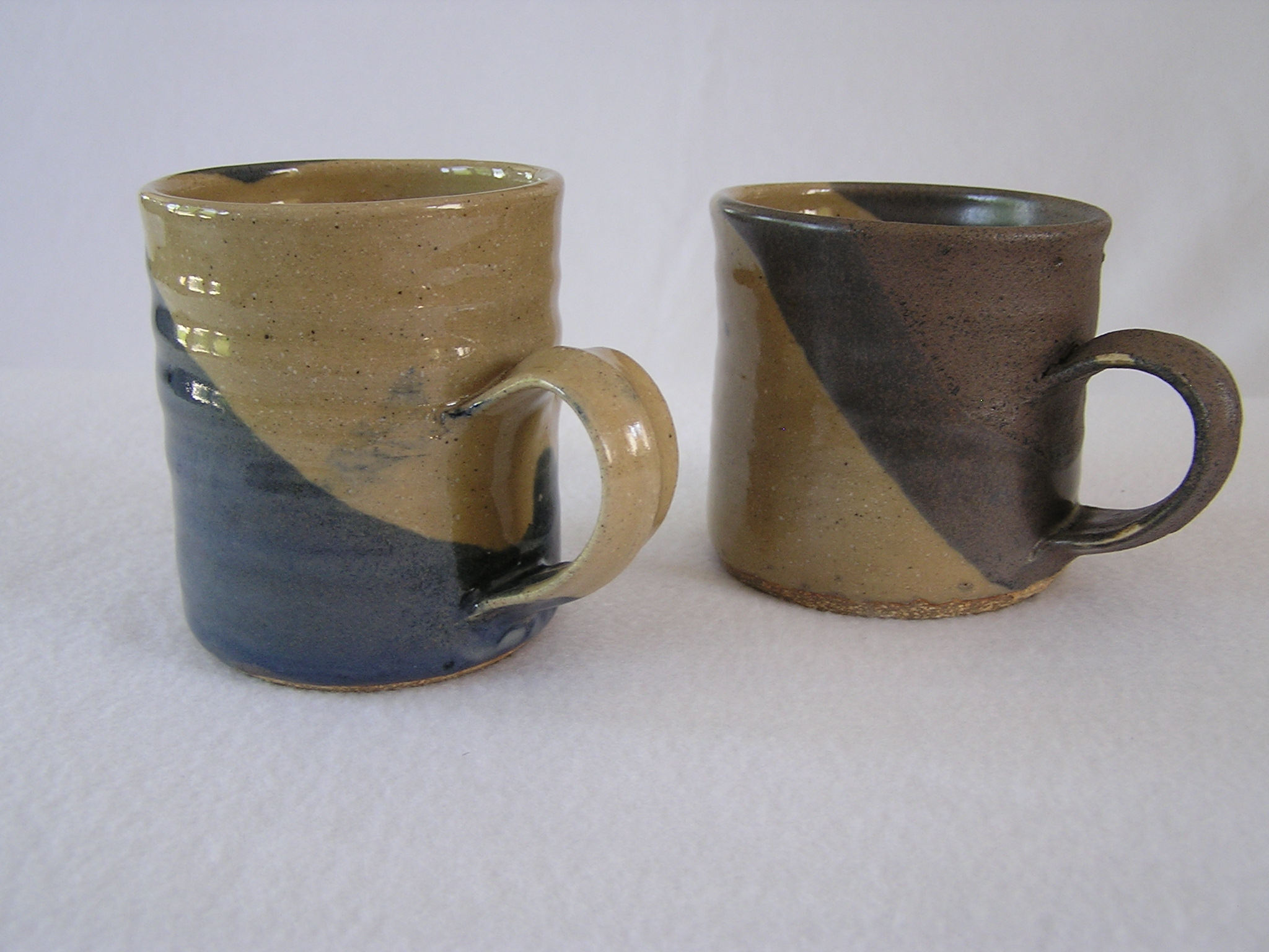 Cup- Coffee, Khaki-Dark Blue 3