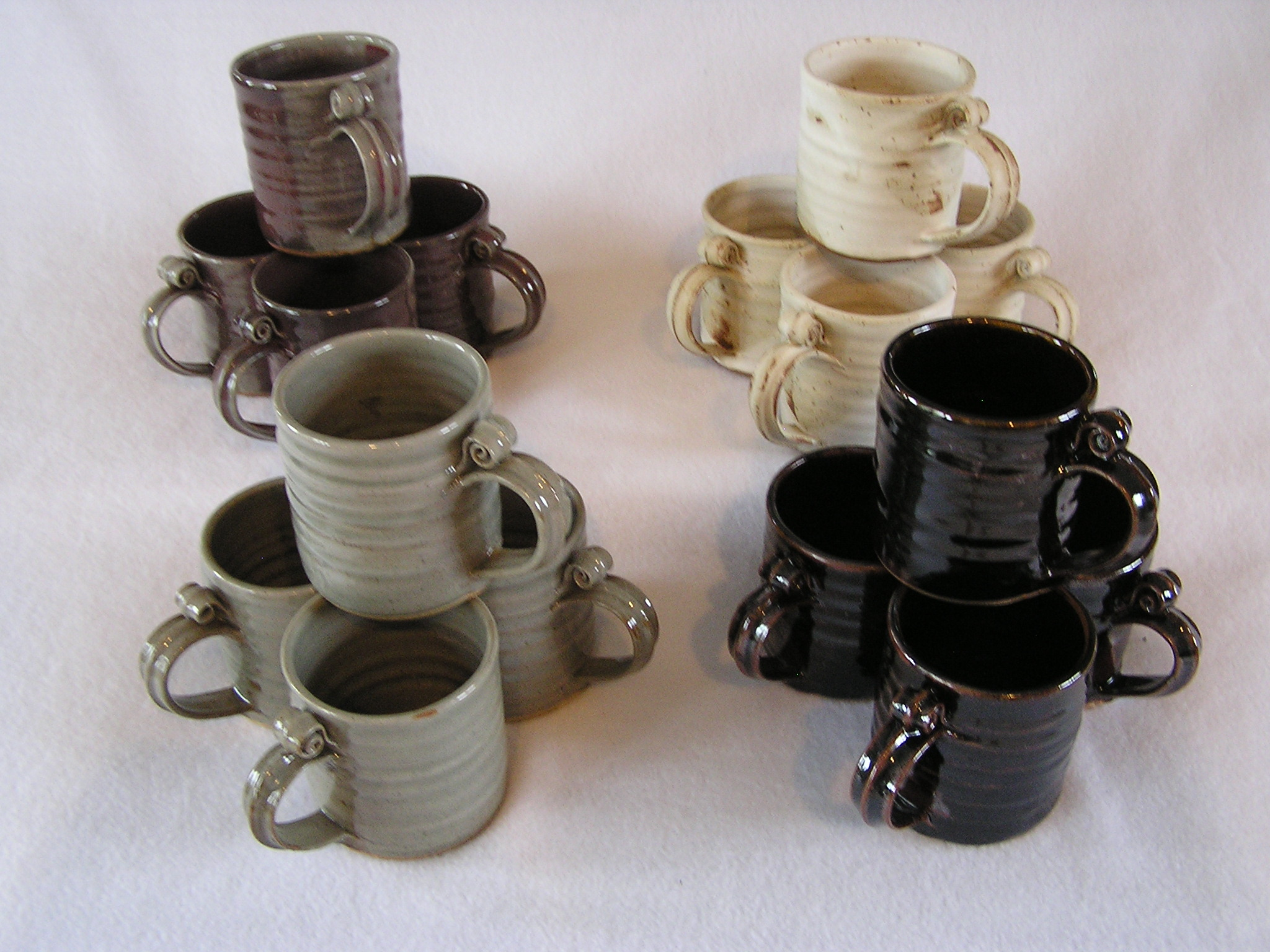 Mug- Set 4 Group C 4x3 in Assorted Color