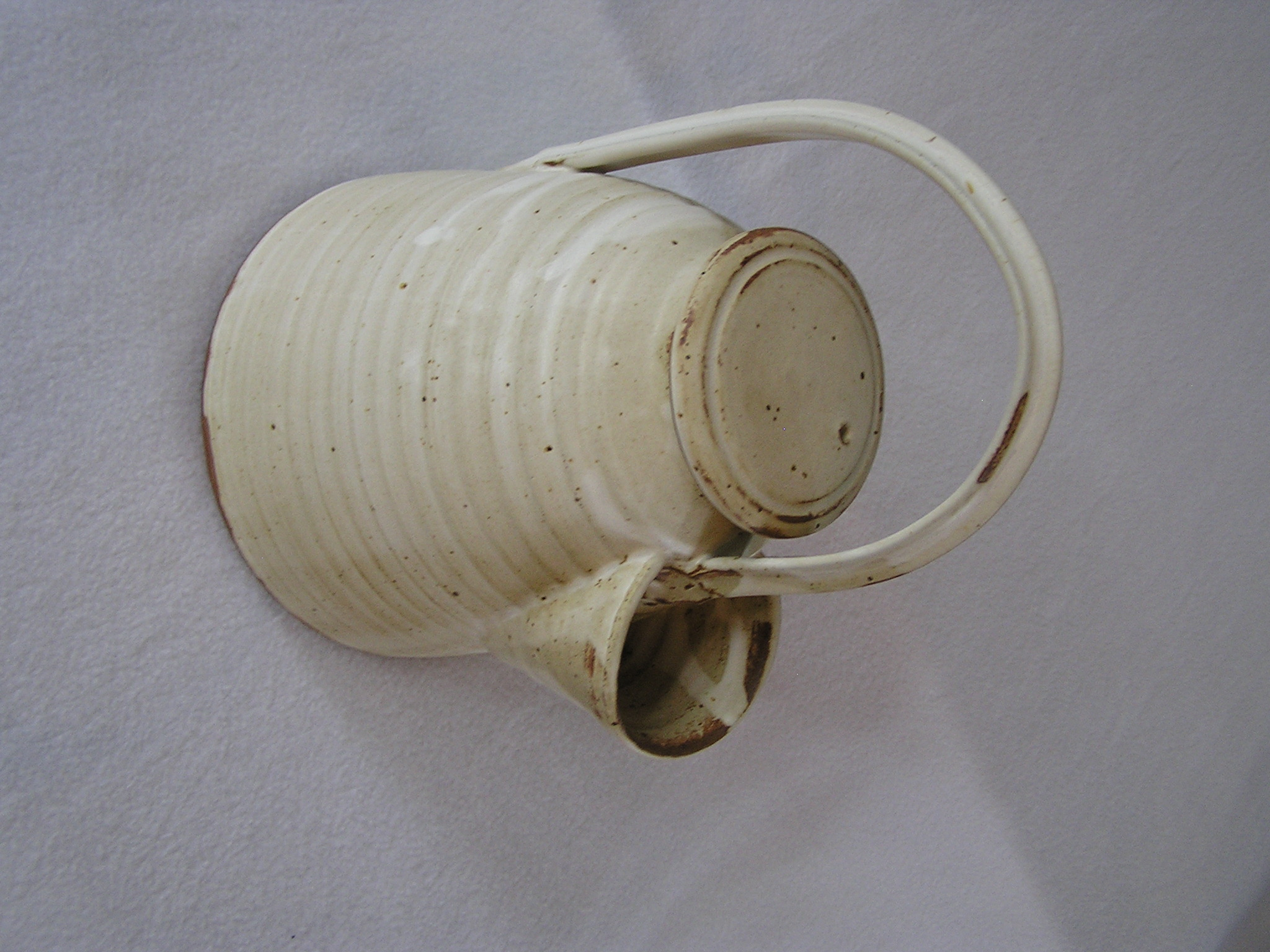 Teapot- Decorative Round, Alabaster Pull