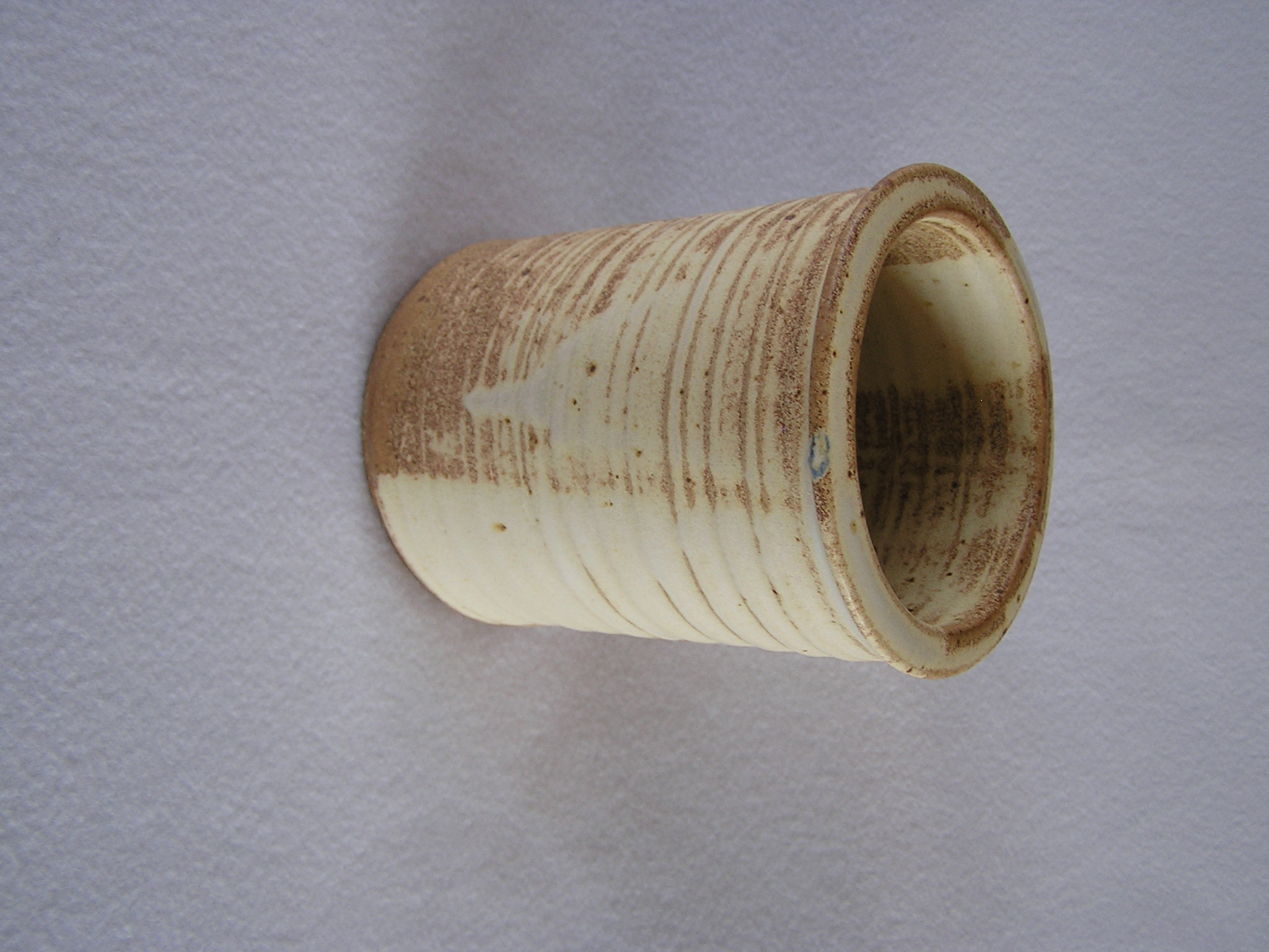 Wine Cylinder- 6 in  W020 Earth Brown Fl