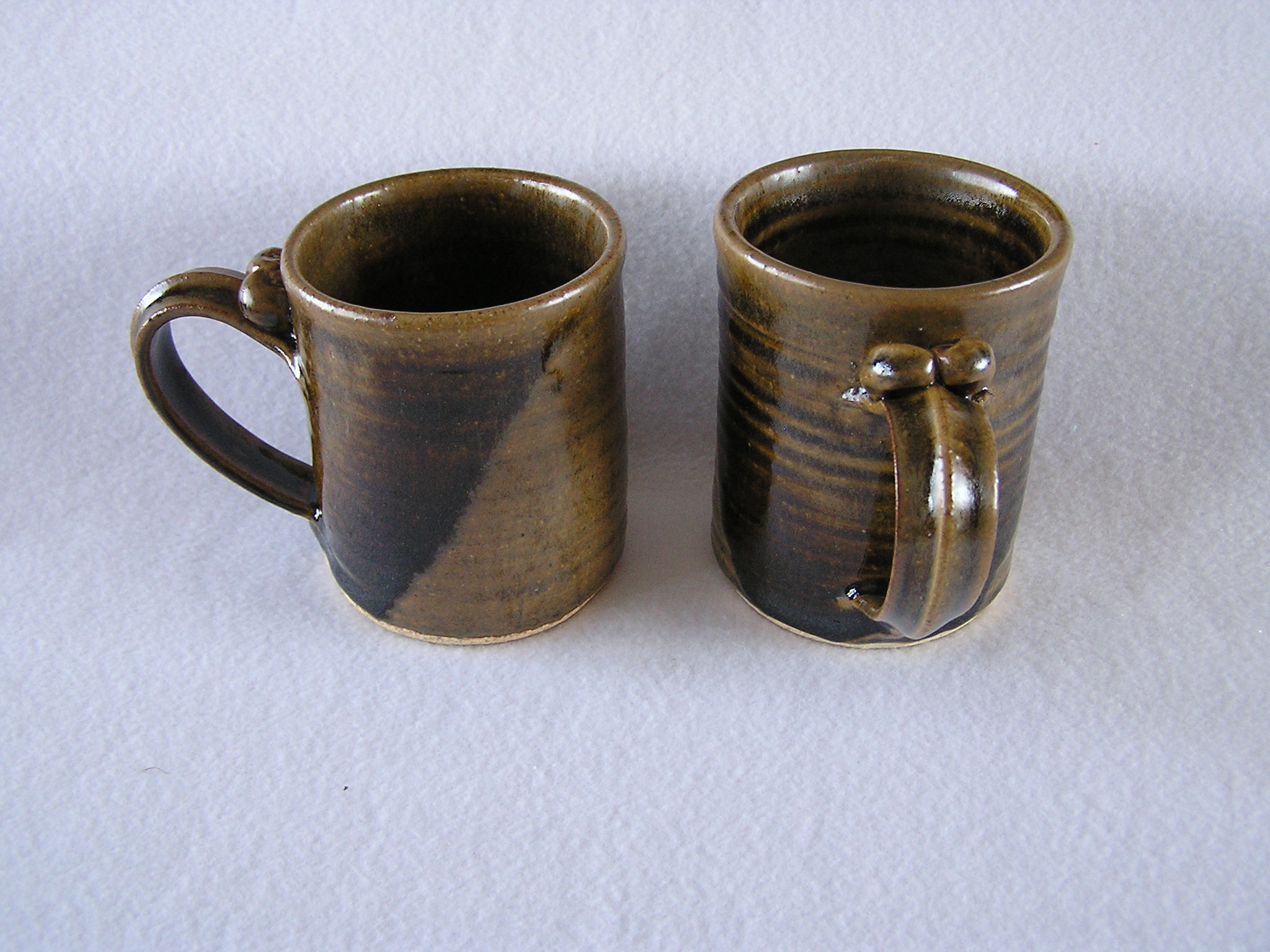 Mug- 4x3 in D824 Black-Amber Set 2 (NFS)