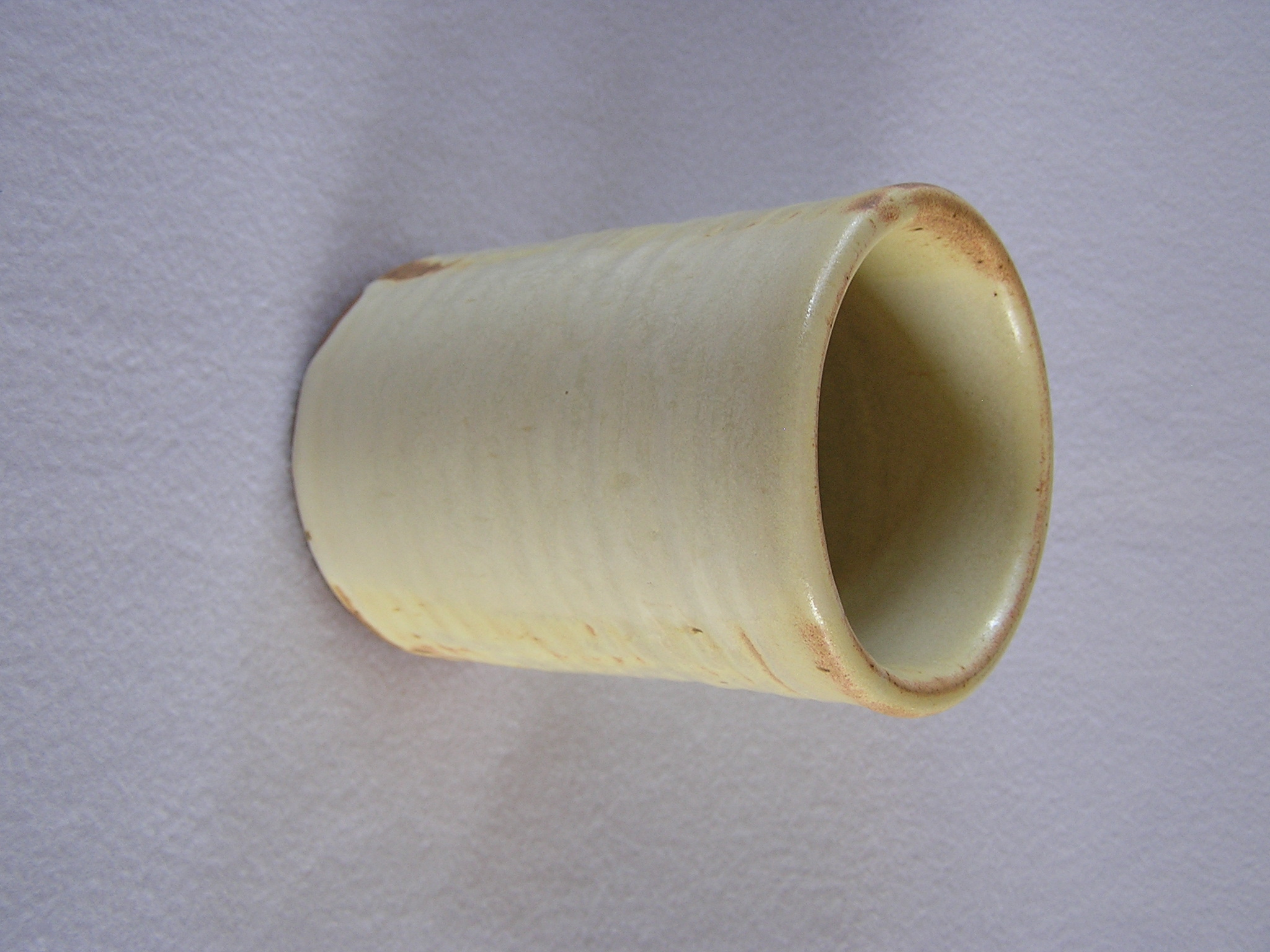 Wine Cylinder- 6 in  W026 Buttercream ($