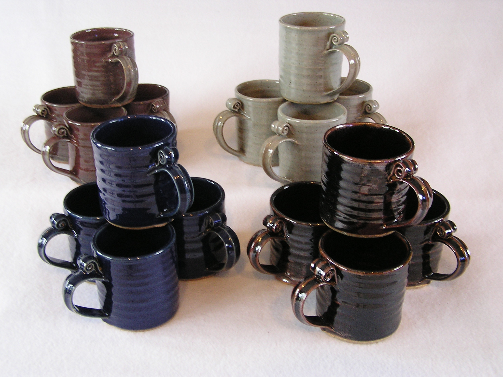 Mug- Set 4 Group D 4x3 in Assorted Color