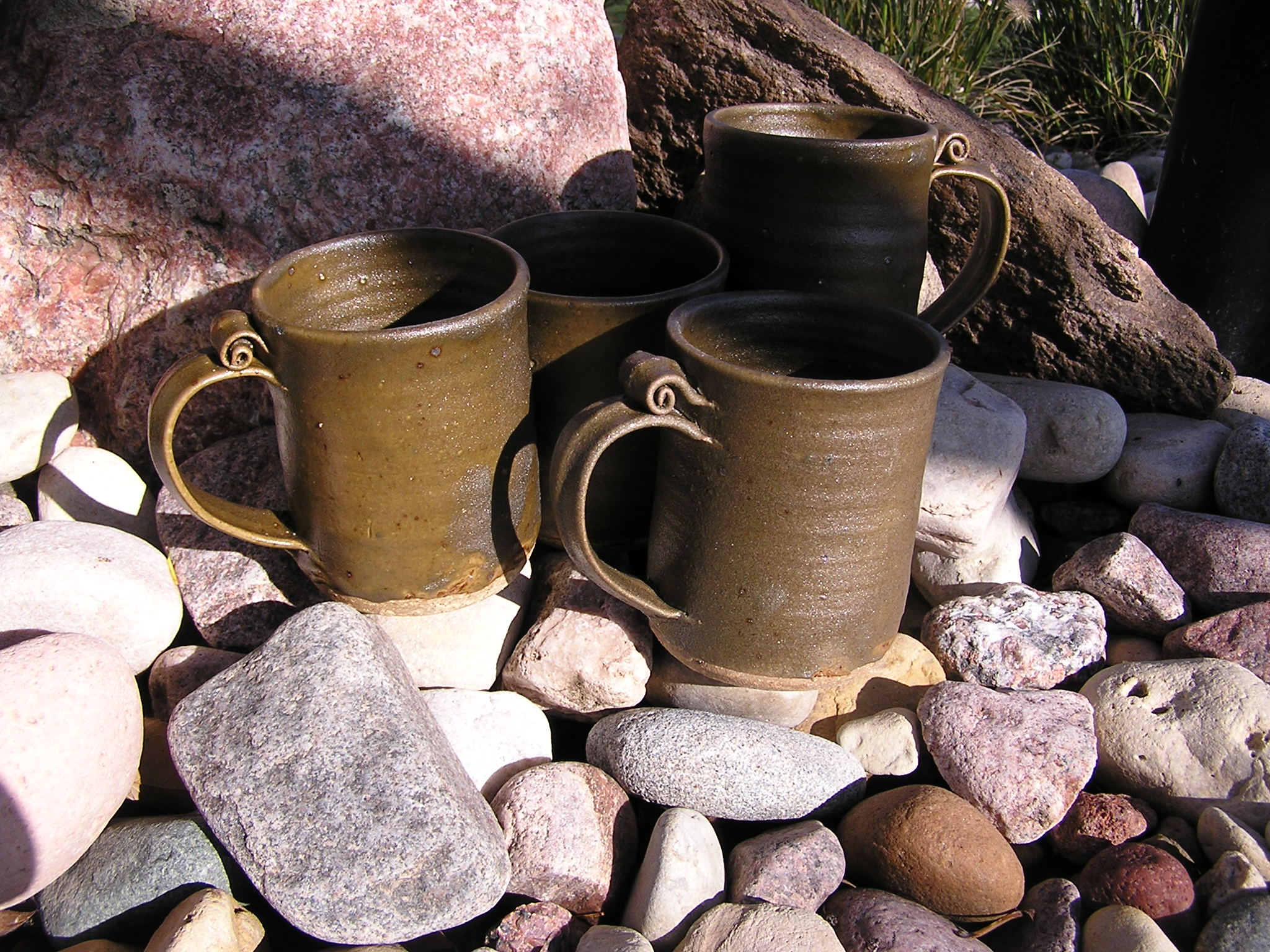 Mug- Olive Matt 4 in Set of 4 (NFS)