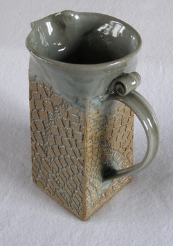 Pitcher- Handbuilt Square Group B