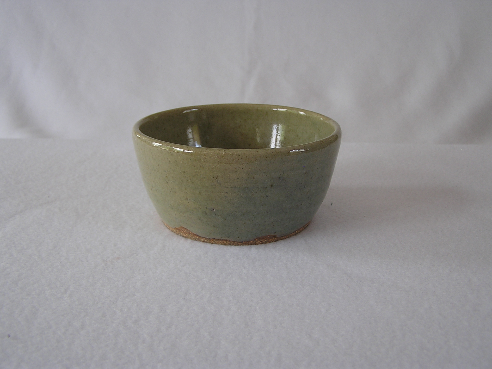 Bowl- Soup, Pea Green 2.5x4.5 in ($15)
