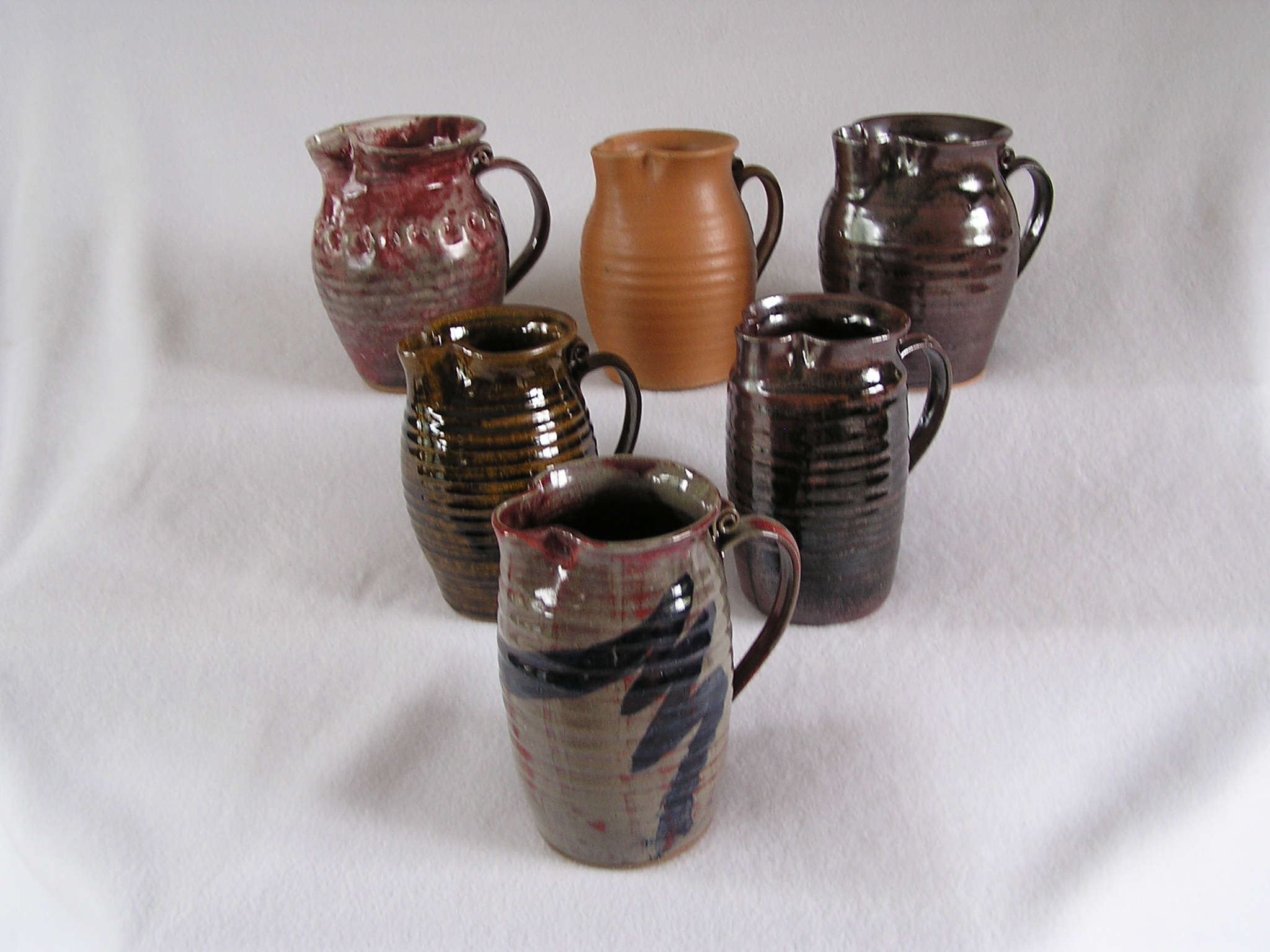 Pitcher- 7 in Group A Assorted ($35 each