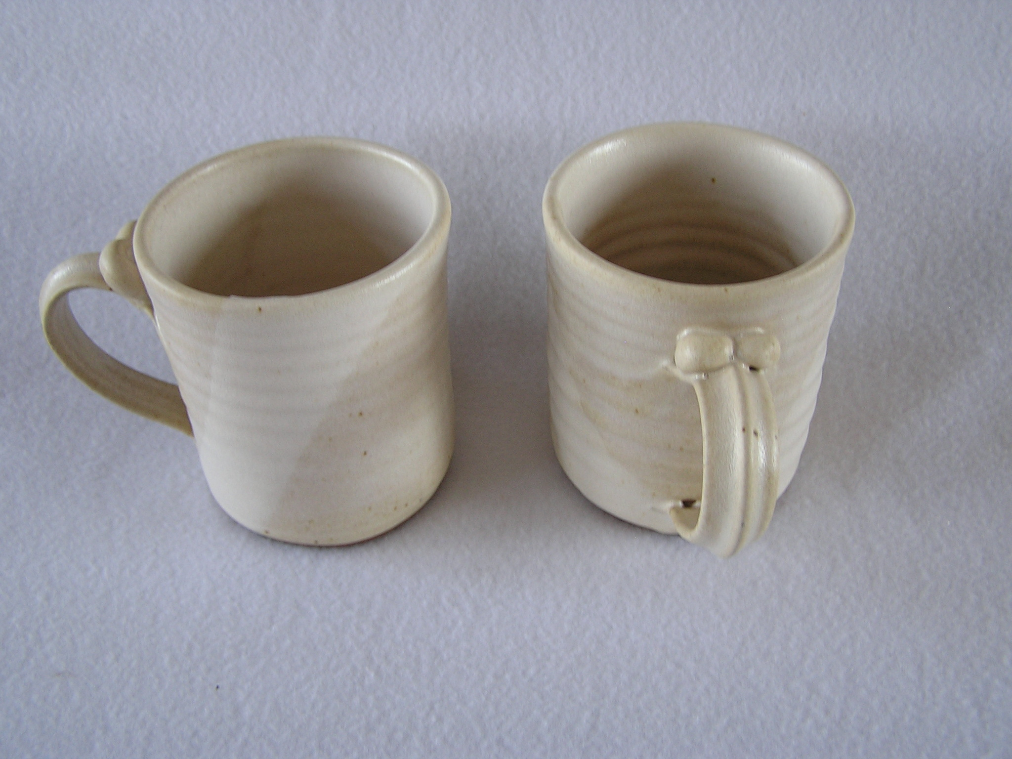 Mug- 4x3 in D822 Pearl White Set 2 (NSF)