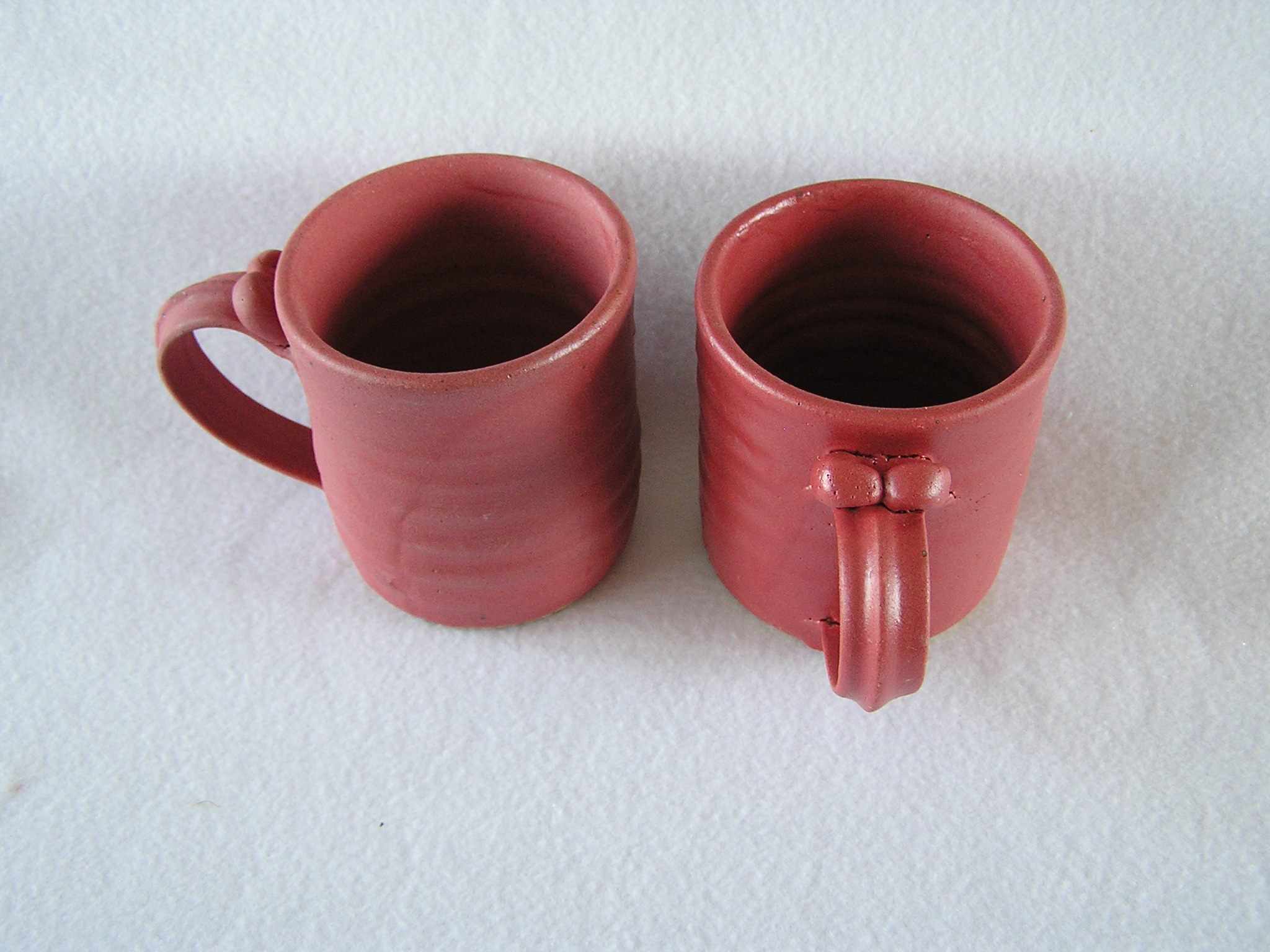 Mug- 4x3 in D816 Dark Red Set 2 ($16) NF