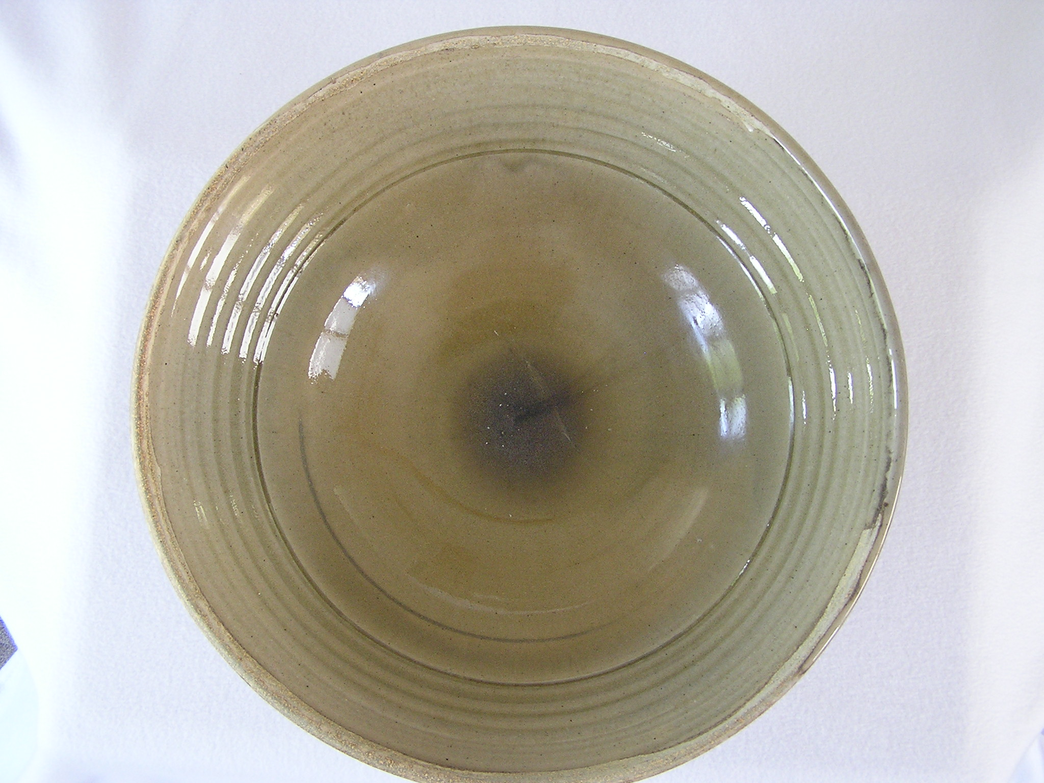 Bowl- Flared Rim, Olive 6x15 in (NFS)