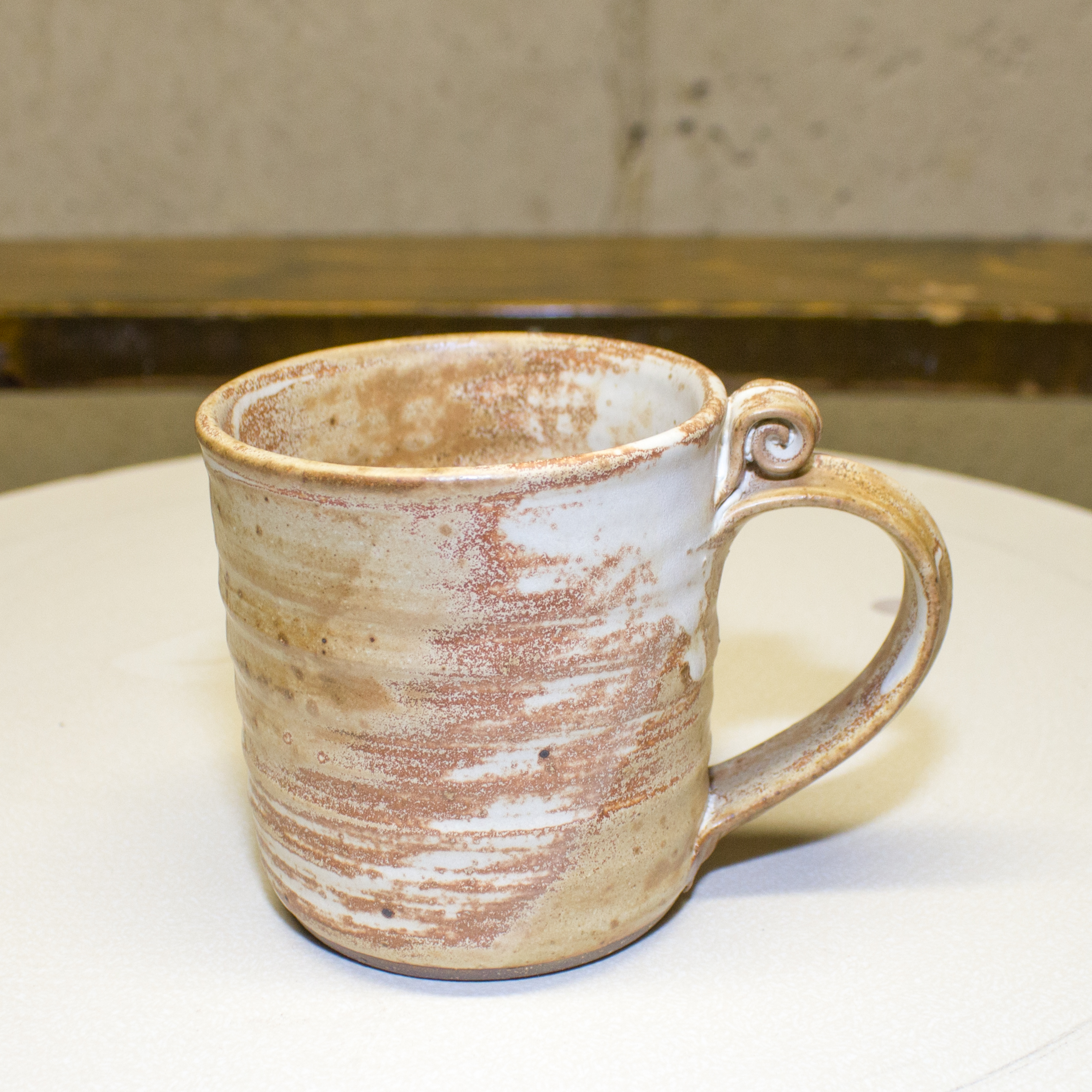 Mug- Matt Brown and Chestnut 4x3 in (NFS