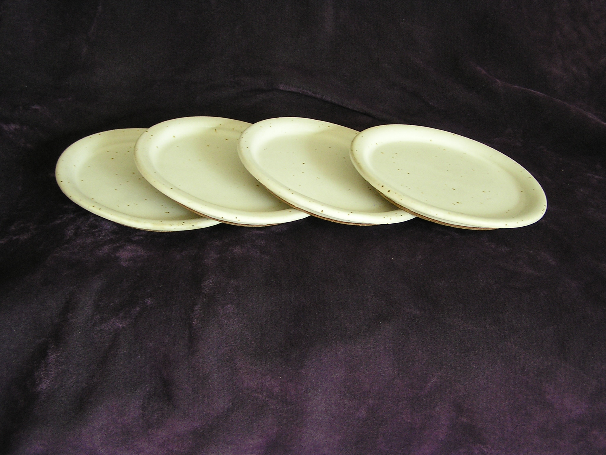 Plate- Pearl White 8 in PL026 (NFS)