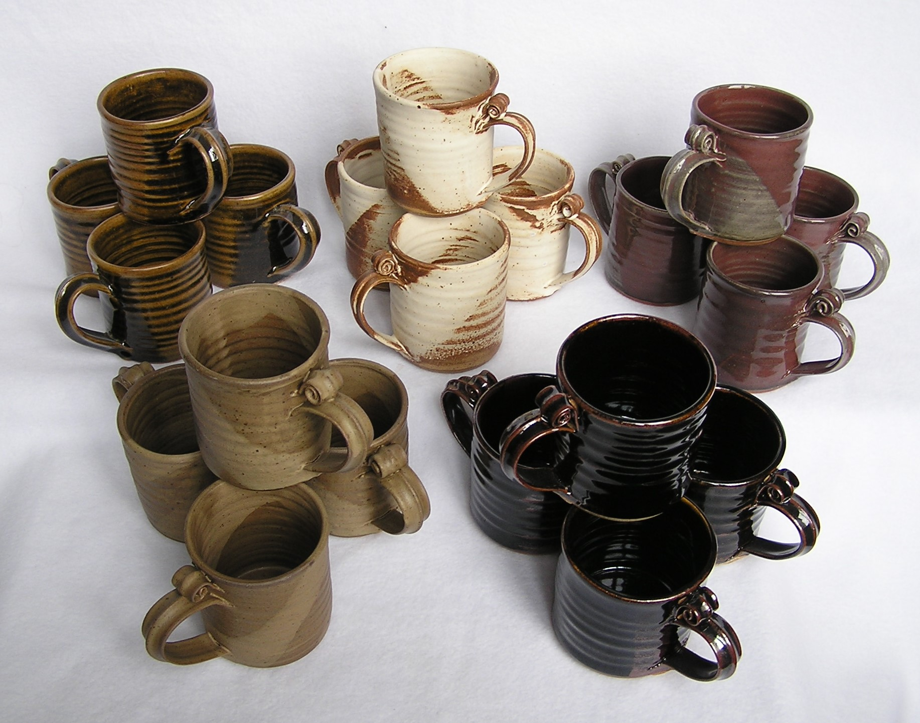 Mug- Set 4 Group B 4x3 in Assorted Color