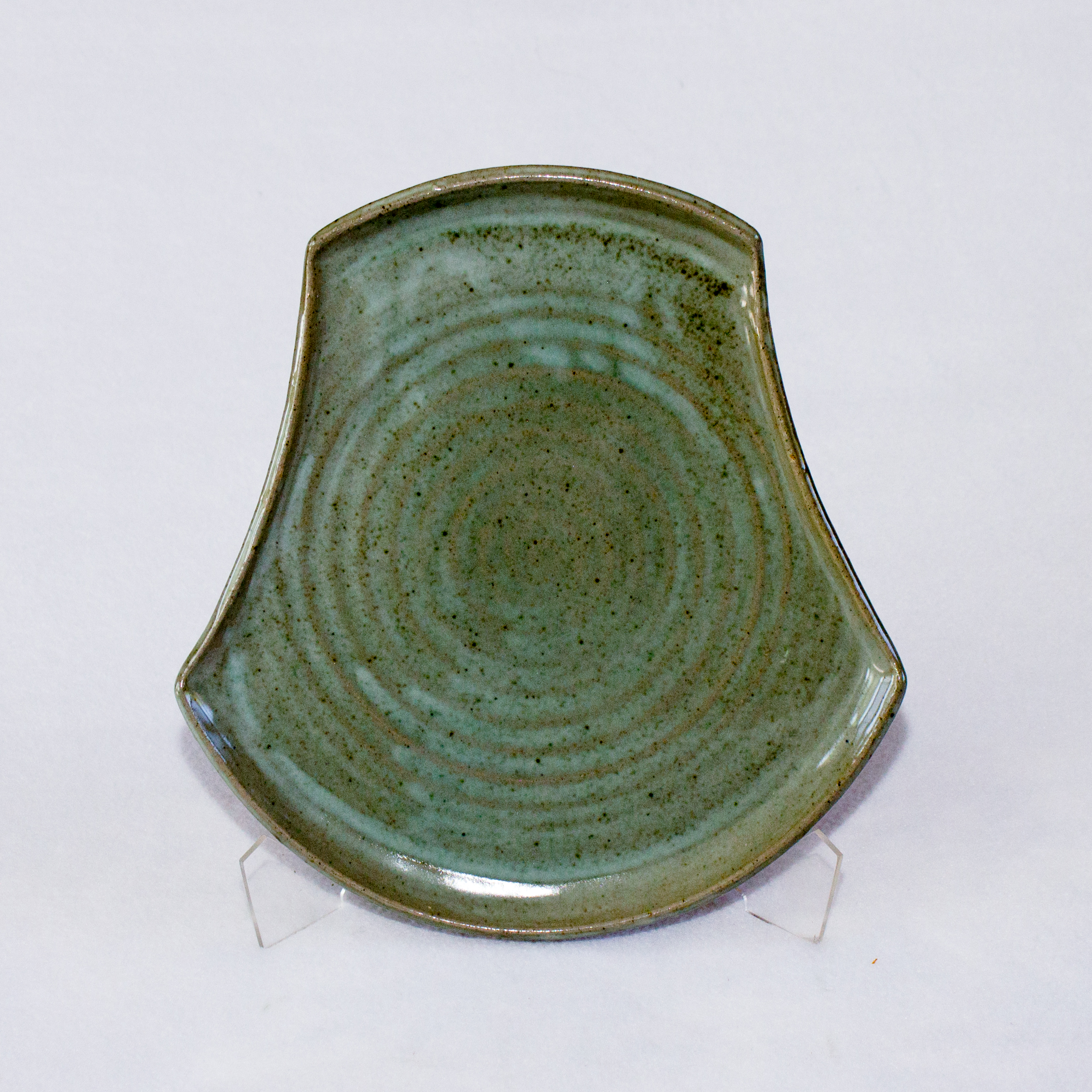 Platter- Footprint Sea Glass 11