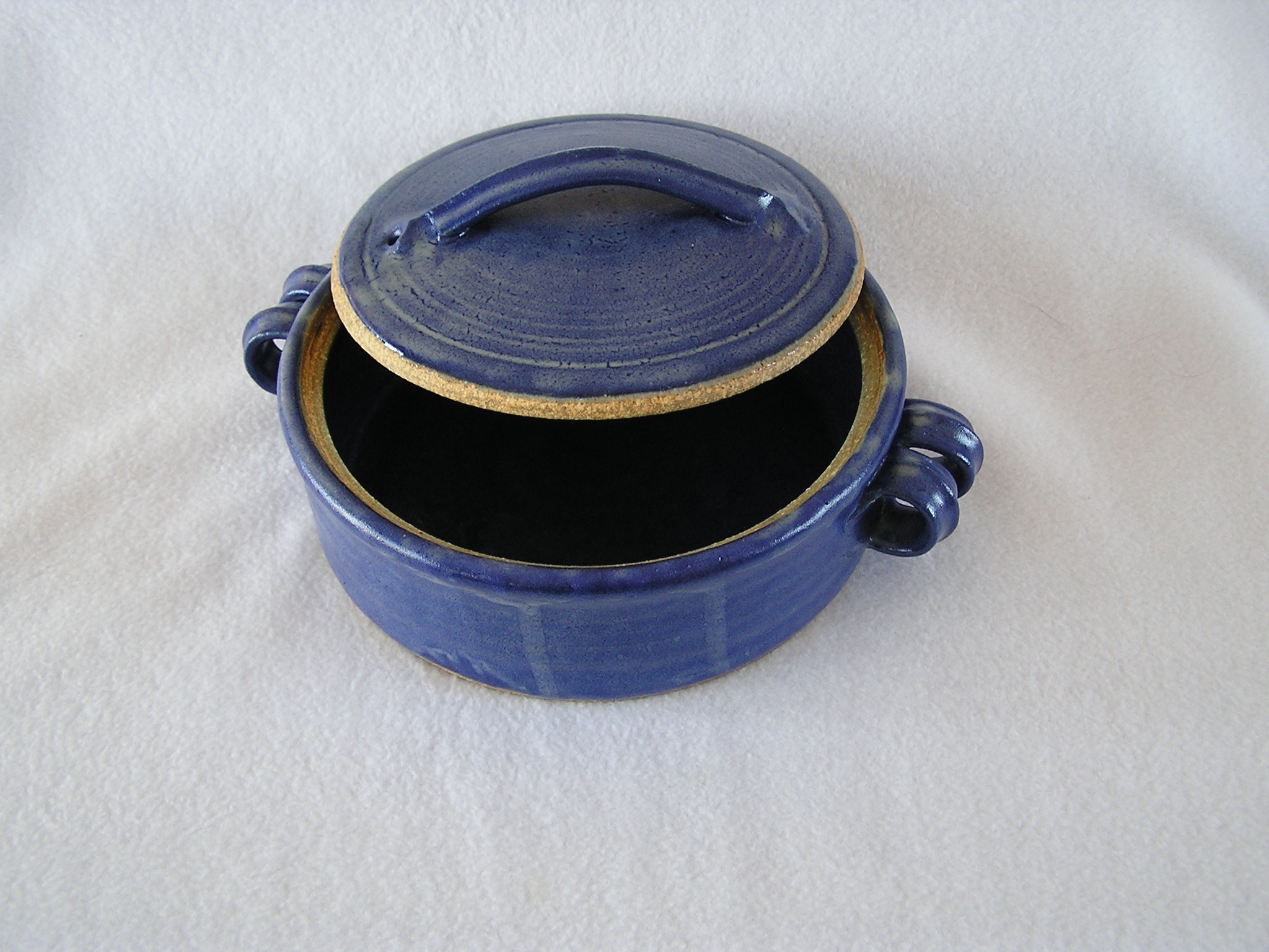 Casserole- 8 in Royal Blue 8x3 in H CS81