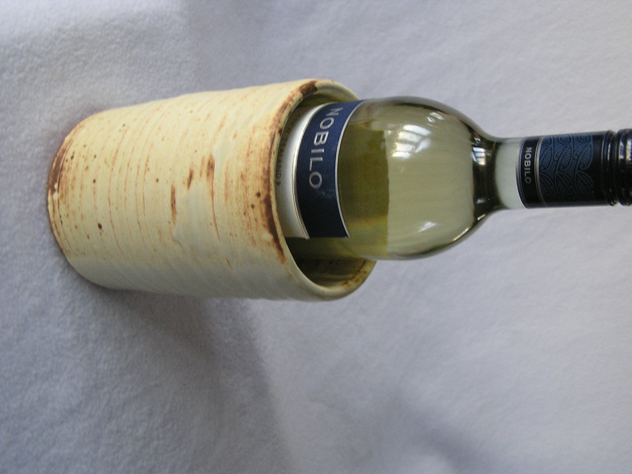 Wine Cylinder- German Mustard 6x4 in ($2