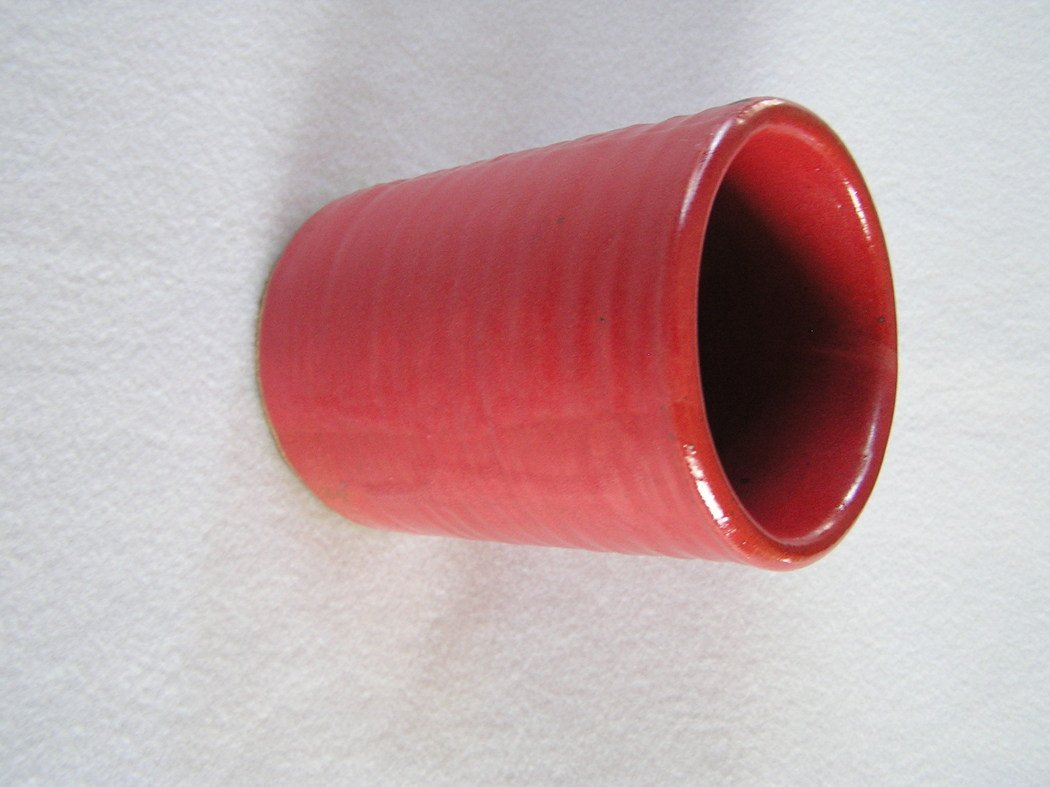 Wine Cylinder- 6 in  W027 Dark Red (NFS)