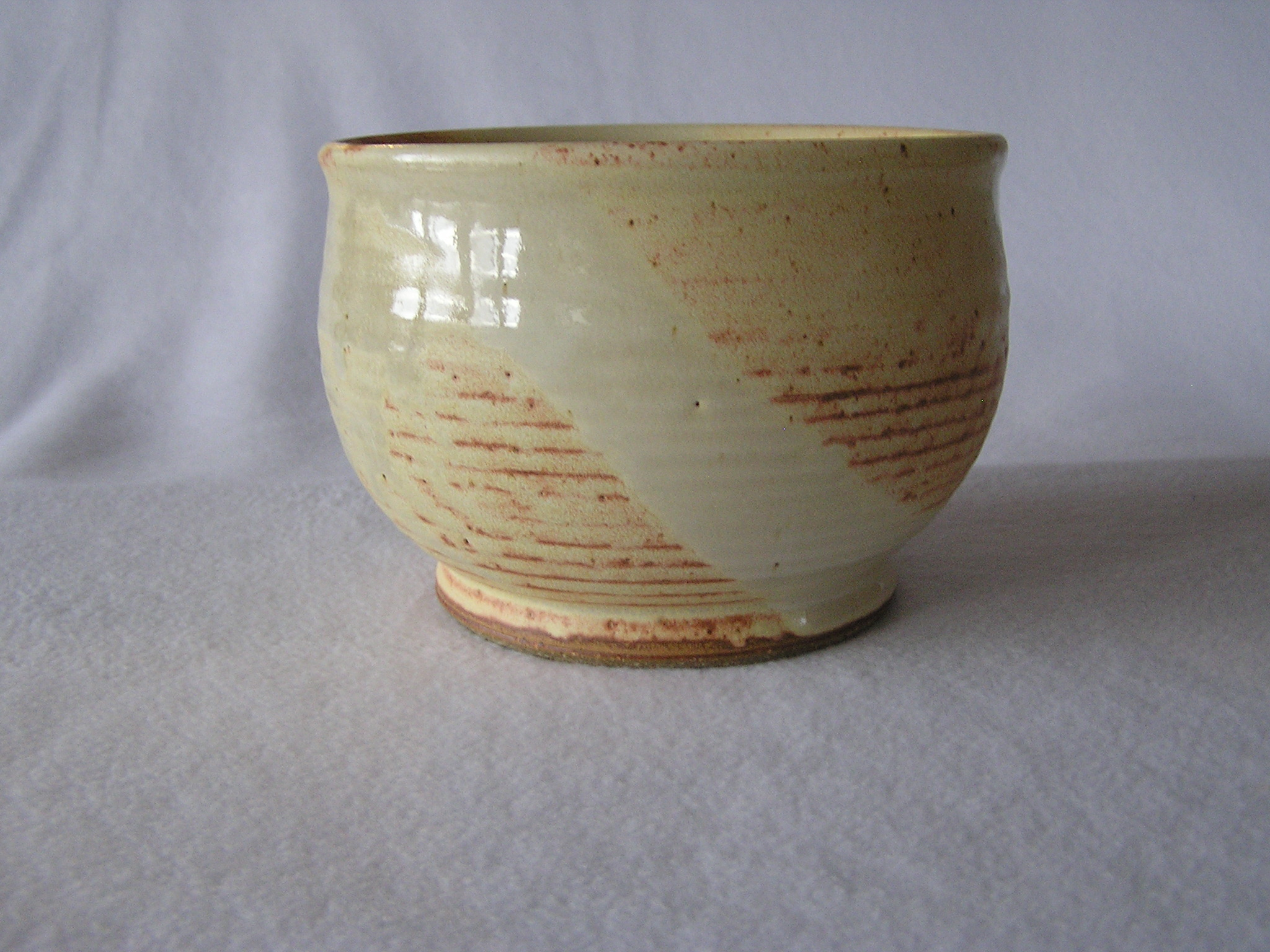 Bowl- German Mustard 4.5x6.5 ($30)