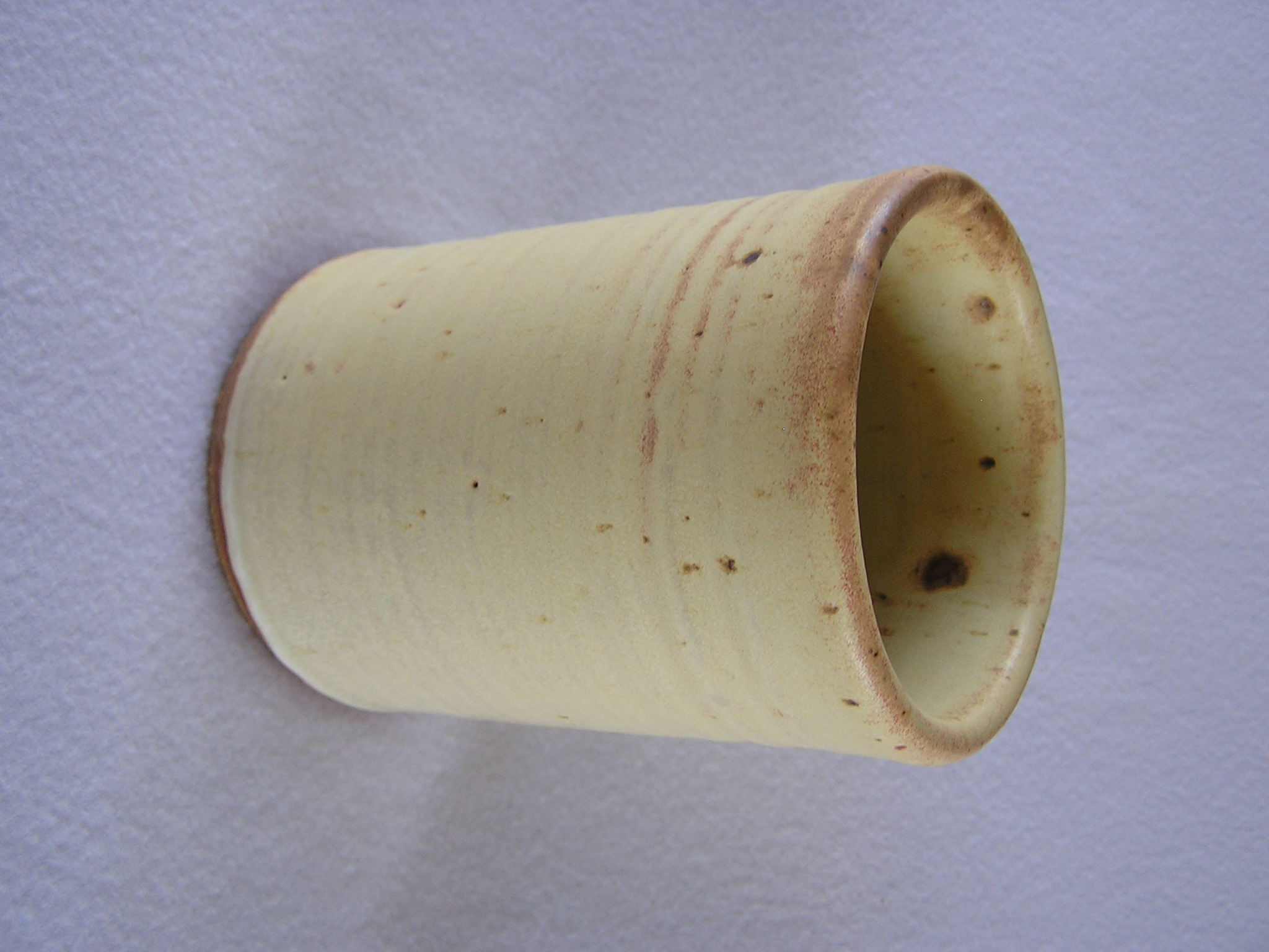 Wine Cylinder- 6 in  W036 Buttercream ($