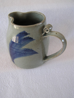 Pitcher- 6 in (7) Cylinder, Dove Grey w