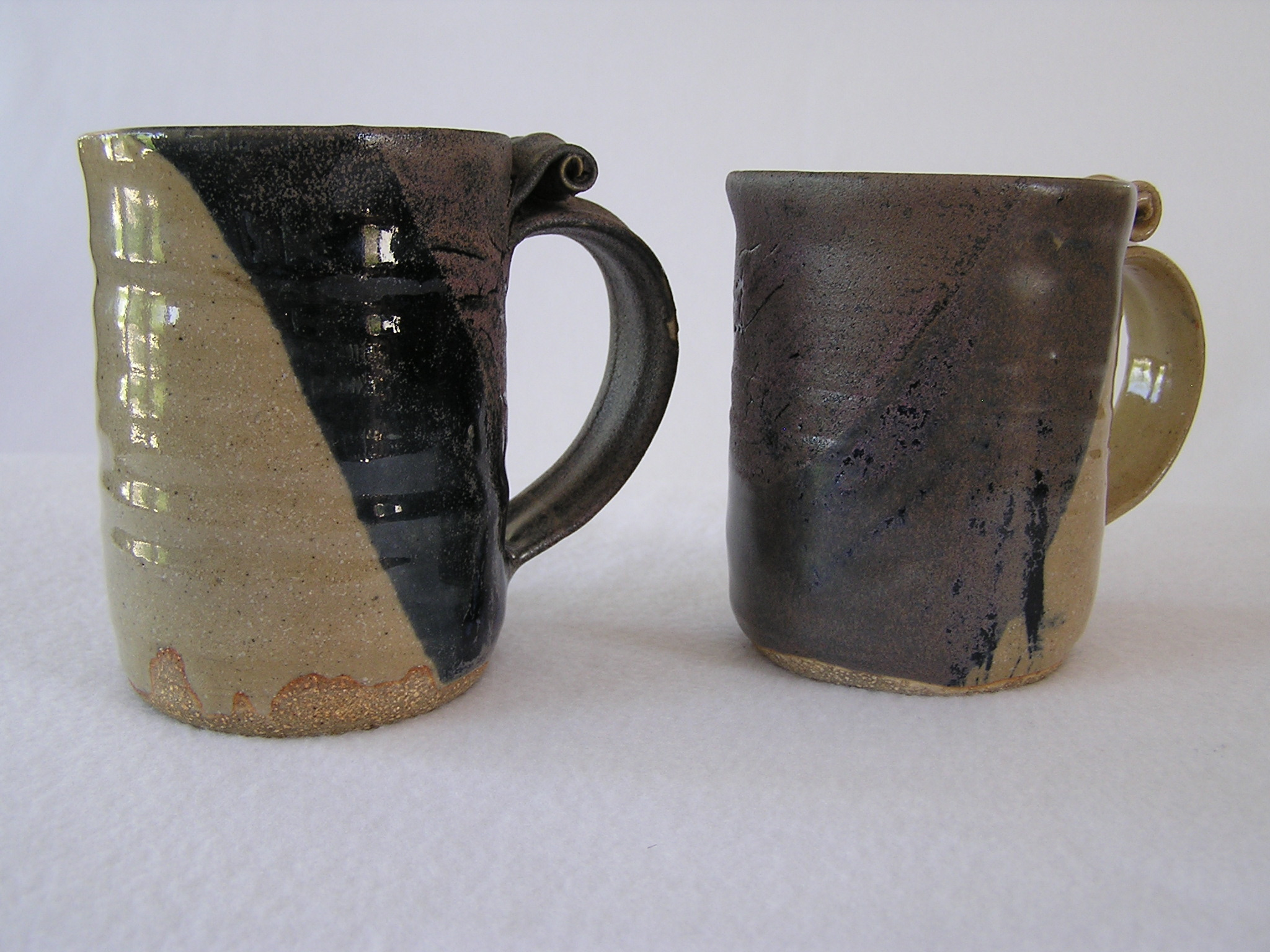 Mug- Khaki-Dark Blue 5x3 in ($9 each)
