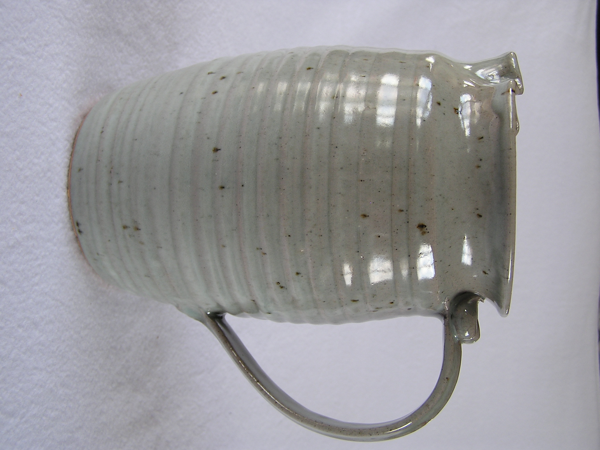 Pitcher- Barrel, Grey 8x4.5 in (NFS)