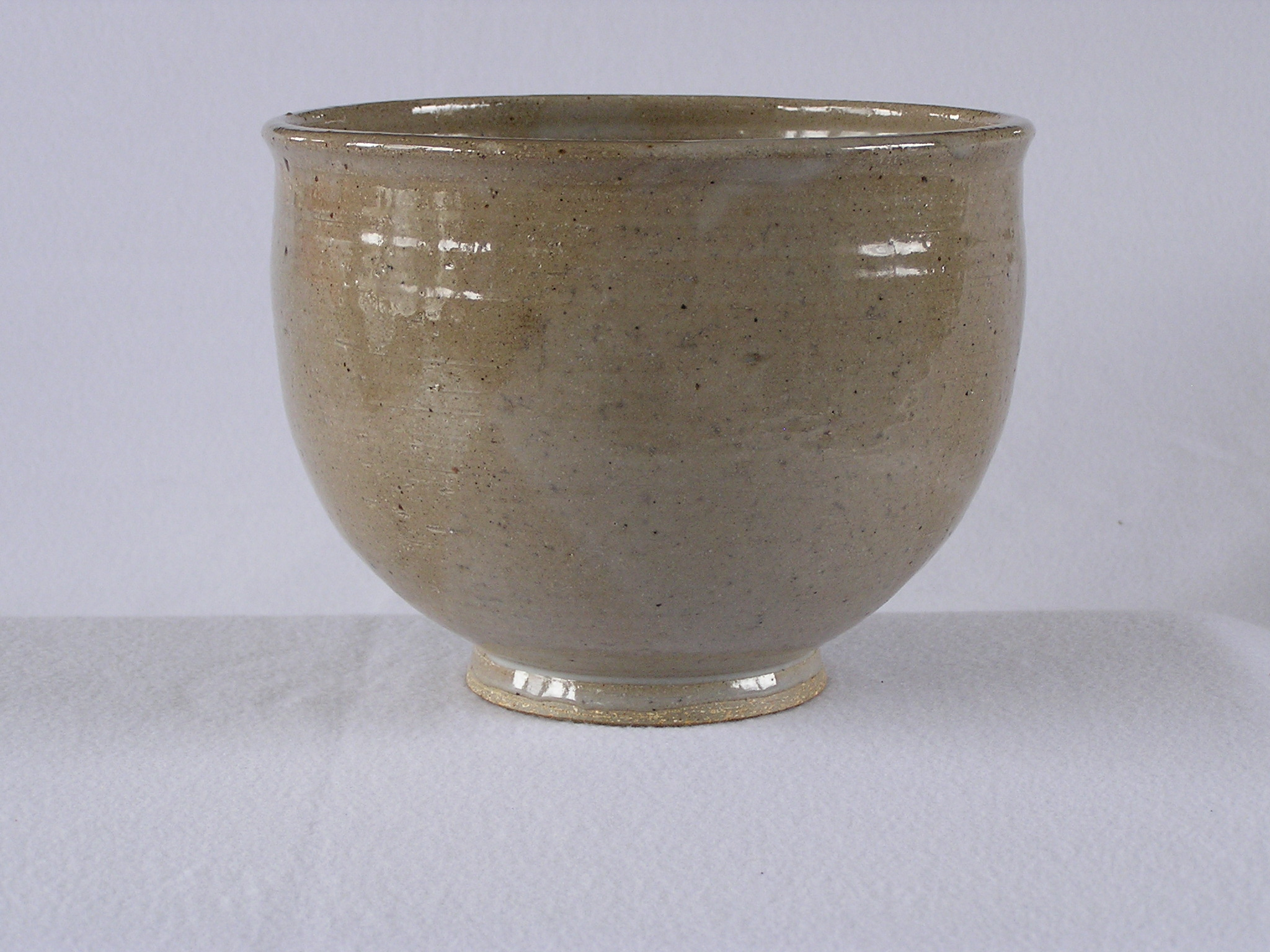 Bowl- Lt Brown 6.5x8.5 in ($40)