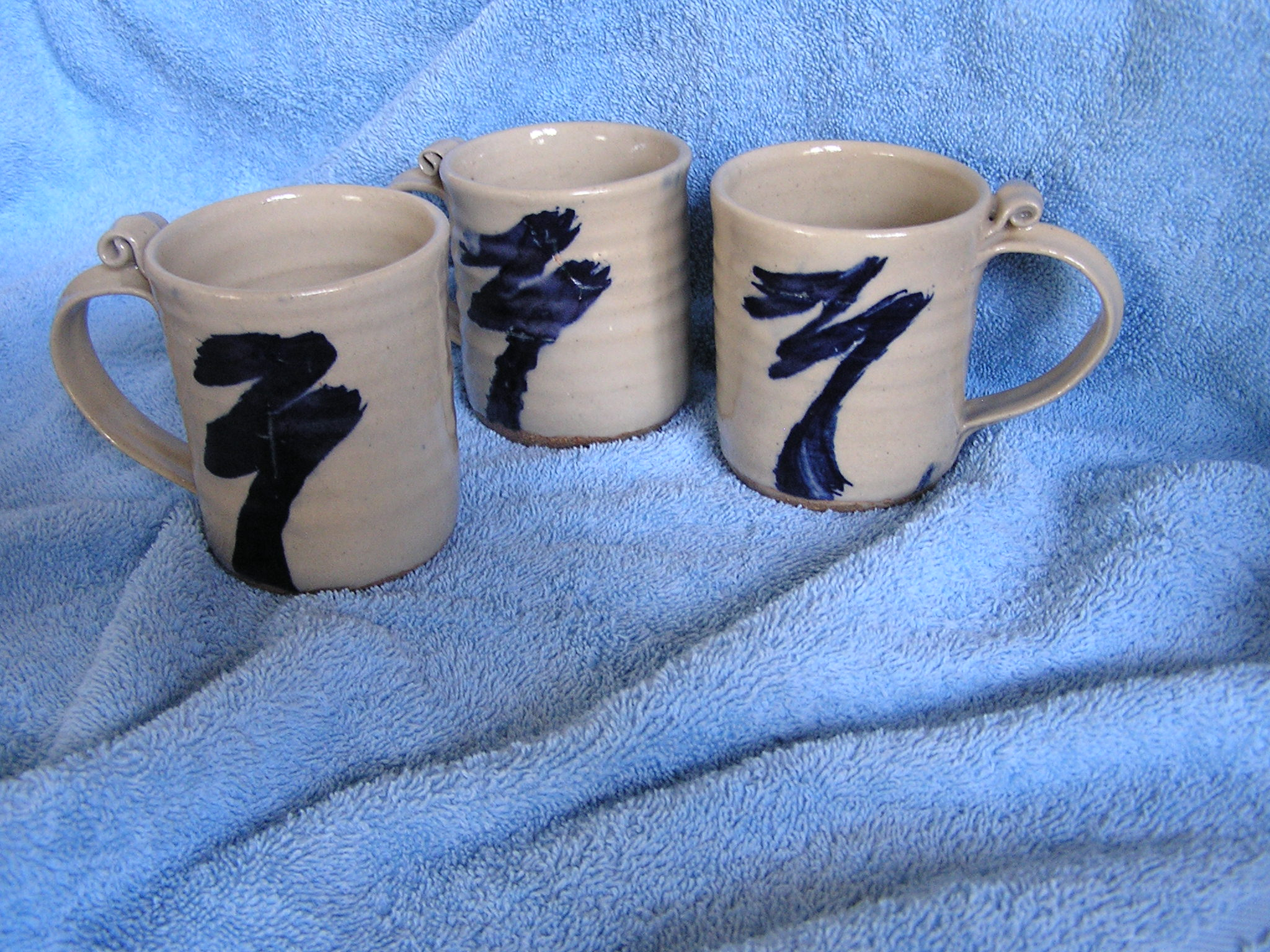 Mug- White-Blue 5 in (NFS)