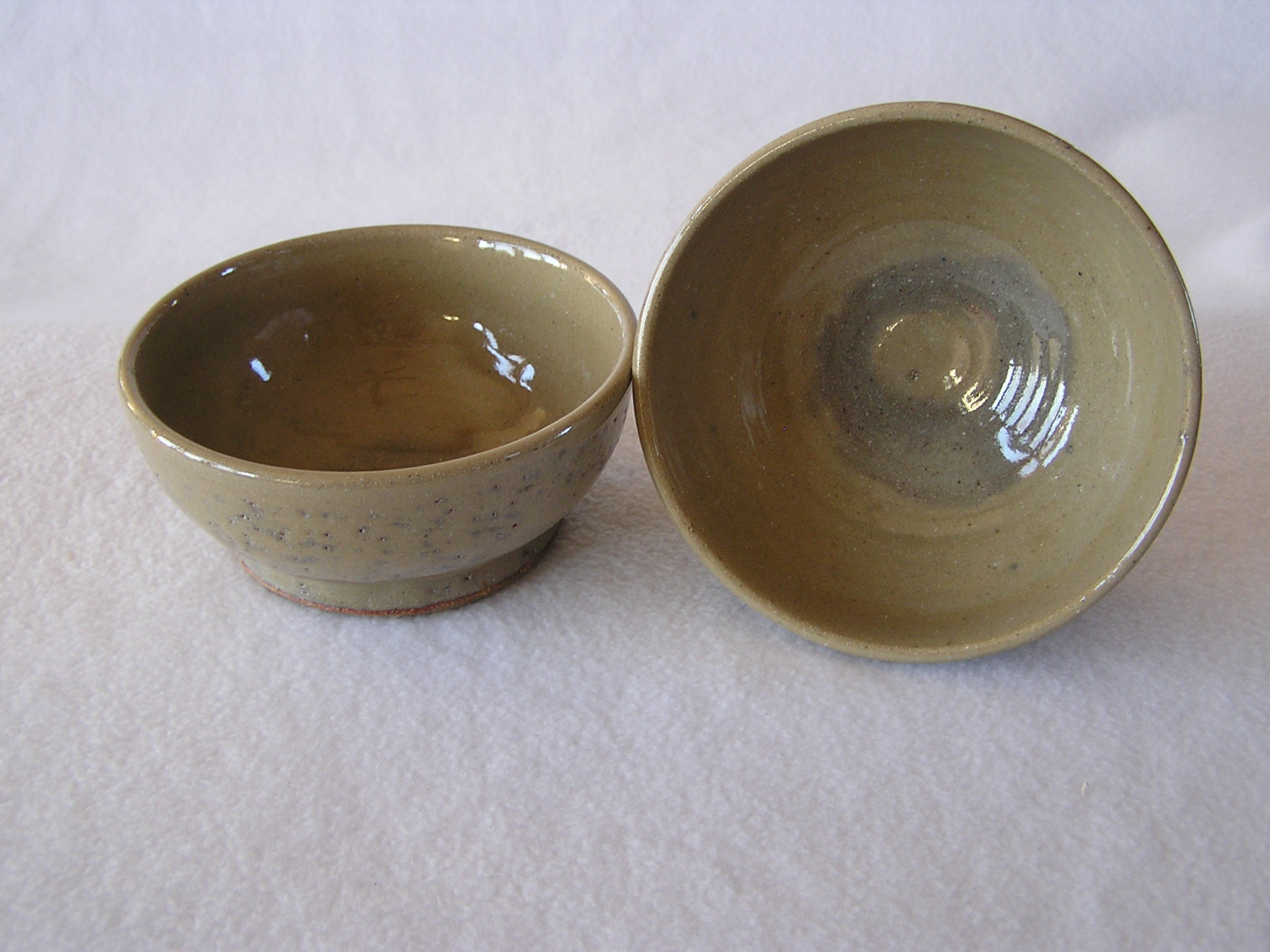 Bowl- Khaki w Blue Haze 2
