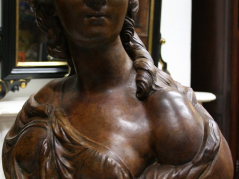 Terracotta Bust of Madame du Barry