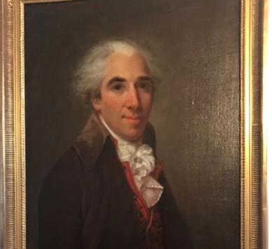 18th Century Directoire Period Portrait of a Man