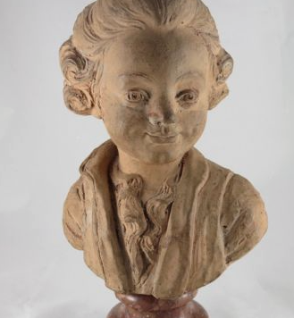 18th Century Terracotta of the Dauphin of France