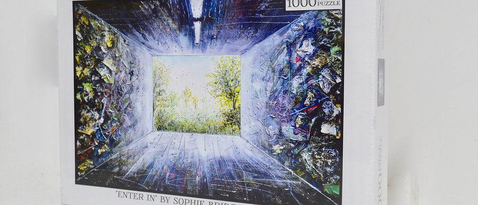 "Jigsaw Puzzle 1000 Piece ""Enter In"""""